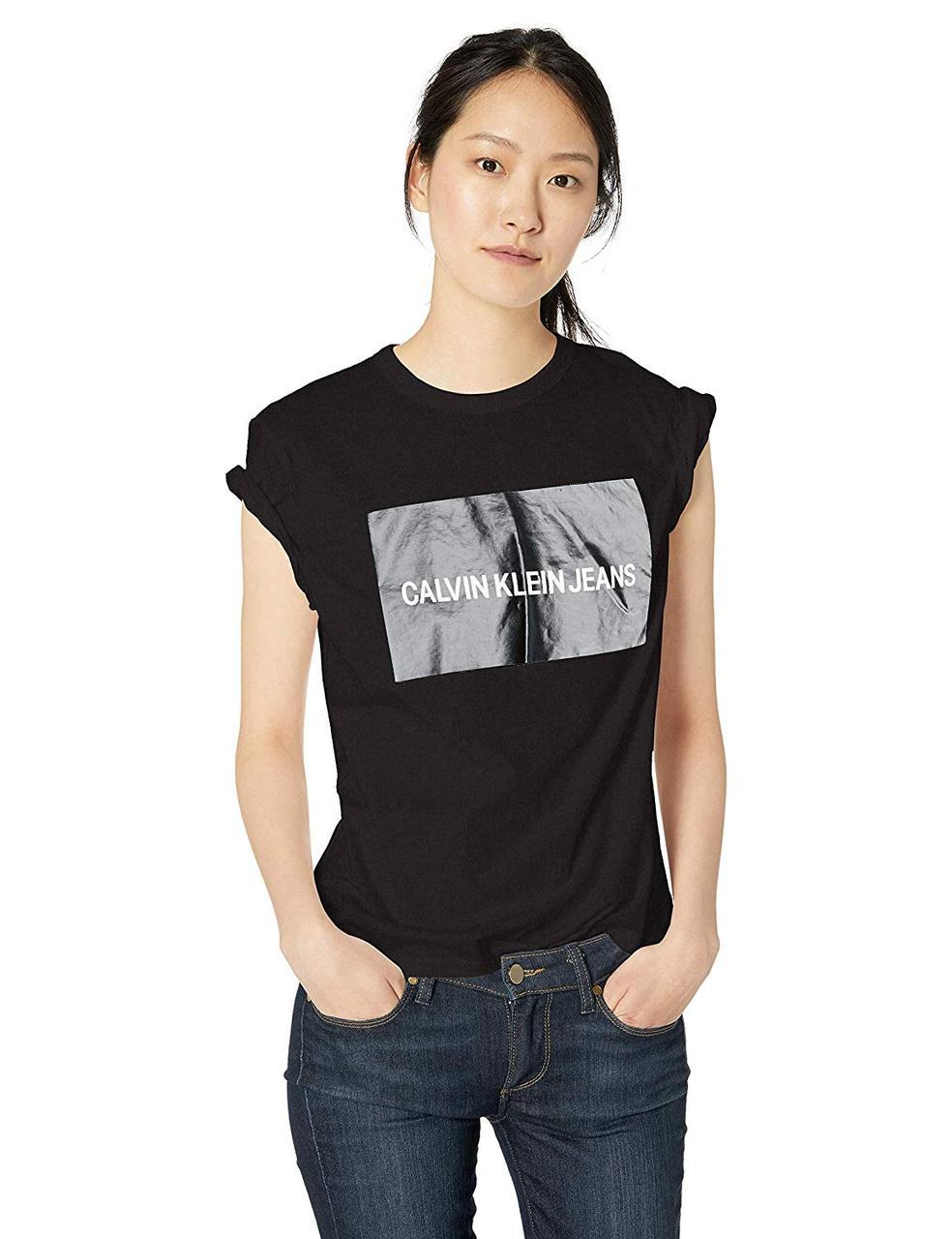 0136d93c603d9 Женская Футболка Calvin Klein Jeans Размер L ОРИГИНАЛ — в Категории ...