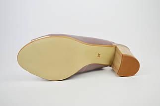 Босоніжки жіночі бузкові Marco 1161, фото 3