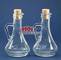 """Набор бутылок для масла 2шт. 0,26л стеклянных с пробками """"Olivia"""" Pasabahce 80108"""