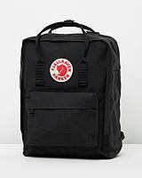 Стильный рюкзак черный рюкзак Fjallraven Kanken Classic