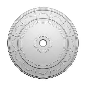 Розетка стельова з гіпсу р-23 Ø530