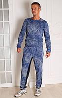 Спортивный костюм мужской синий Fashion 2 размер 44-50