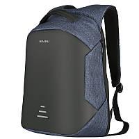 Рюкзак для ноутбука 15.6 городской Baibu м1 USB black/blue