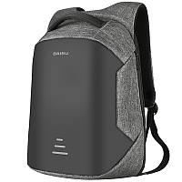 Рюкзак для ноутбука 15.6 городской Baibu м1 USB black/gray