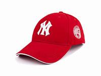 Кепка красная с вышивкой NY