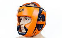 Шлем боксерский с полной защитой FLEX VENUM BO-5339-OR