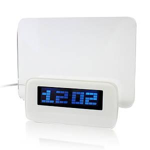 Часы электронные с доской для записи маркером с лед подсветкой Led Clocks 149768