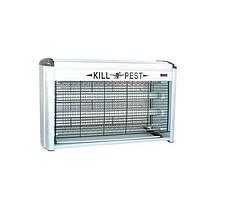 Лампа для уничтожения насекомых KILL PEST BK-L30 2x15W Белый (par0208005)