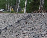 Бутовый камень фракции 150-300 мм для габинов. Киев. Доставка