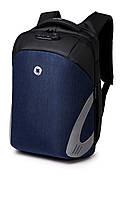 Рюкзак для ноутбука Ozuko Laptop Protector black/blue 15.6 , фото 1