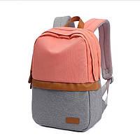 Рюкзак городской для ноутбука Tu-uan tin-pack pink/gray , фото 1