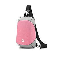 Сумка для нетбука/планшета вертикальная Ozuko Tablet Bag pink/gray