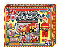 Конструктор металлический Пожарная техника Технок 2056