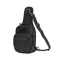 Сумка тактическая повседневная EDC A1S bag Protector Plus black