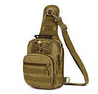 Сумка тактическая повседневная EDC A1S bag Protector Plus coyote