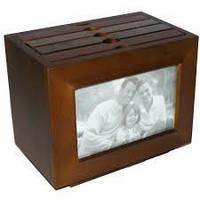 Деревянный фото архив №9142,архив на 96 фото ,отличный подарок,деловые подарки