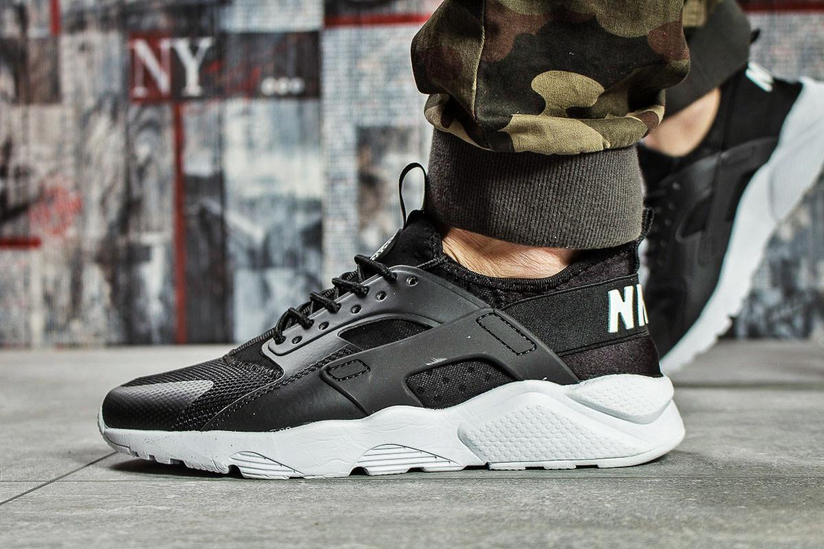 Кроссовки мужские 15672, Nike Air Huarache, черные ( нет в наличии  )