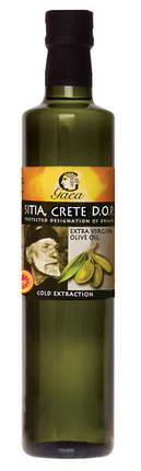 Оливковое масло первого холодного отжима из региона Сития на острове Крит DOP Extra Virgin Gaea - 500мл, фото 2