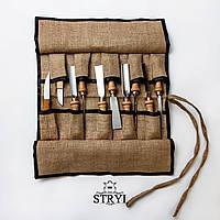 Чехол на 10 стамесок, от производителя STRYI, фото 1
