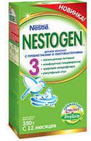 Заменитель грудного молока Nestle Nestogen 3 (Нестле Нестожен) 3, молочная смесь, 350 г