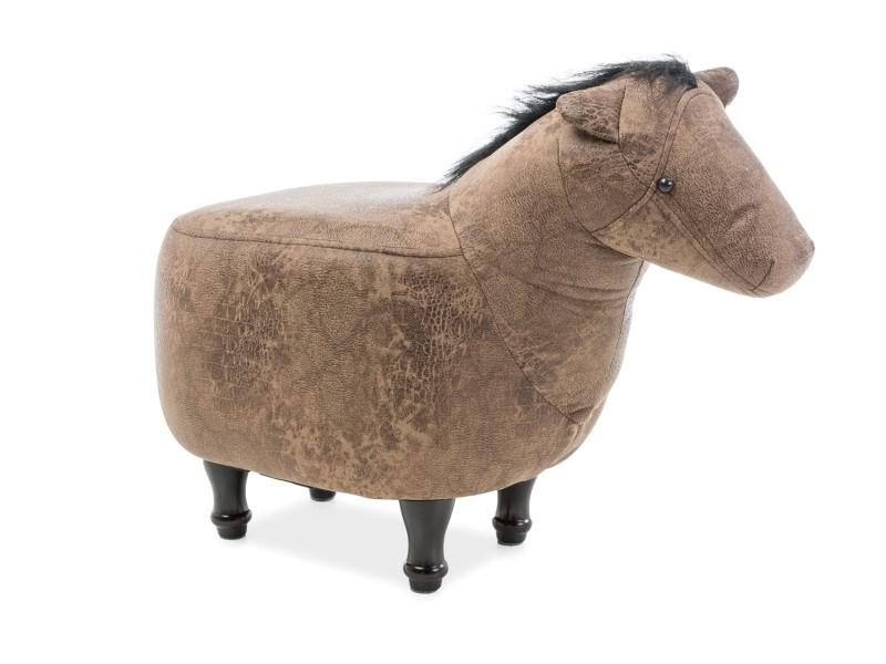 Пуф лошадка Konrad Signal бежевый