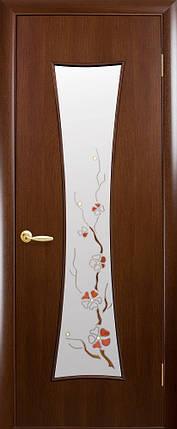 Модель Часы ПВХ стекло Р межкомнатные двери, Николаев, фото 2