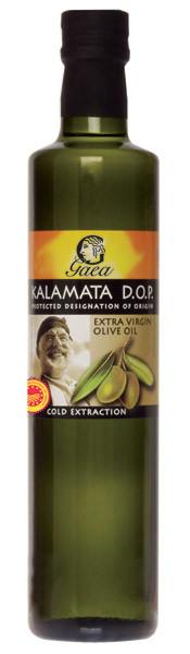 Оливковое масло первого холодного отжима из региона Каламата в Греции DOP Extra Virgin Gaea - 500мл