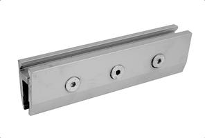 Клемний профіль 1 метр для кріплення стулки автоматичних дверей