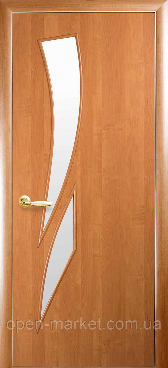 Модель Камея ПВХ скло міжкімнатні двері, Миколаїв