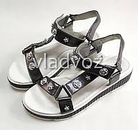 Детские босоножки сандалии сандали для девочки 33р.