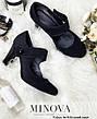 Туфли женские из натуральной замши, размер:36-41, фото 2