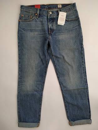 Джинсы женские Levi's 501CT  /W27 L34/Tapered Leg/Button-Fly/White oak/Selvedge/Оригинал, фото 2