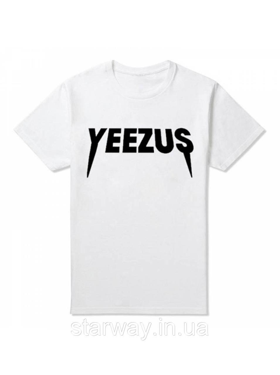 Футболка Yeezus logo | топ