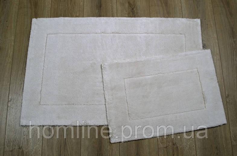 Набор ковриков Irya Vega bej бежевый 60*100+40*60