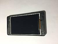 Дисплей для Lenovo A1900 с передней панелью. черный. оригинал. разборка