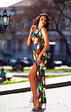 Платье в яркой и красочной расцветки, фото 2