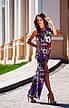 Платье в яркой и красочной расцветки, фото 3