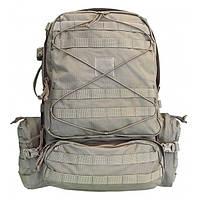 Рюкзак тактический полевой SAC DE COMBAT 45L с гидратором кавером и подсумками