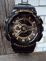 Стильные наручные часы Casio G-Shock GA110. Подсветка. 10 цветов. Качество. Интернет магазин часов. Код: КЧТ12