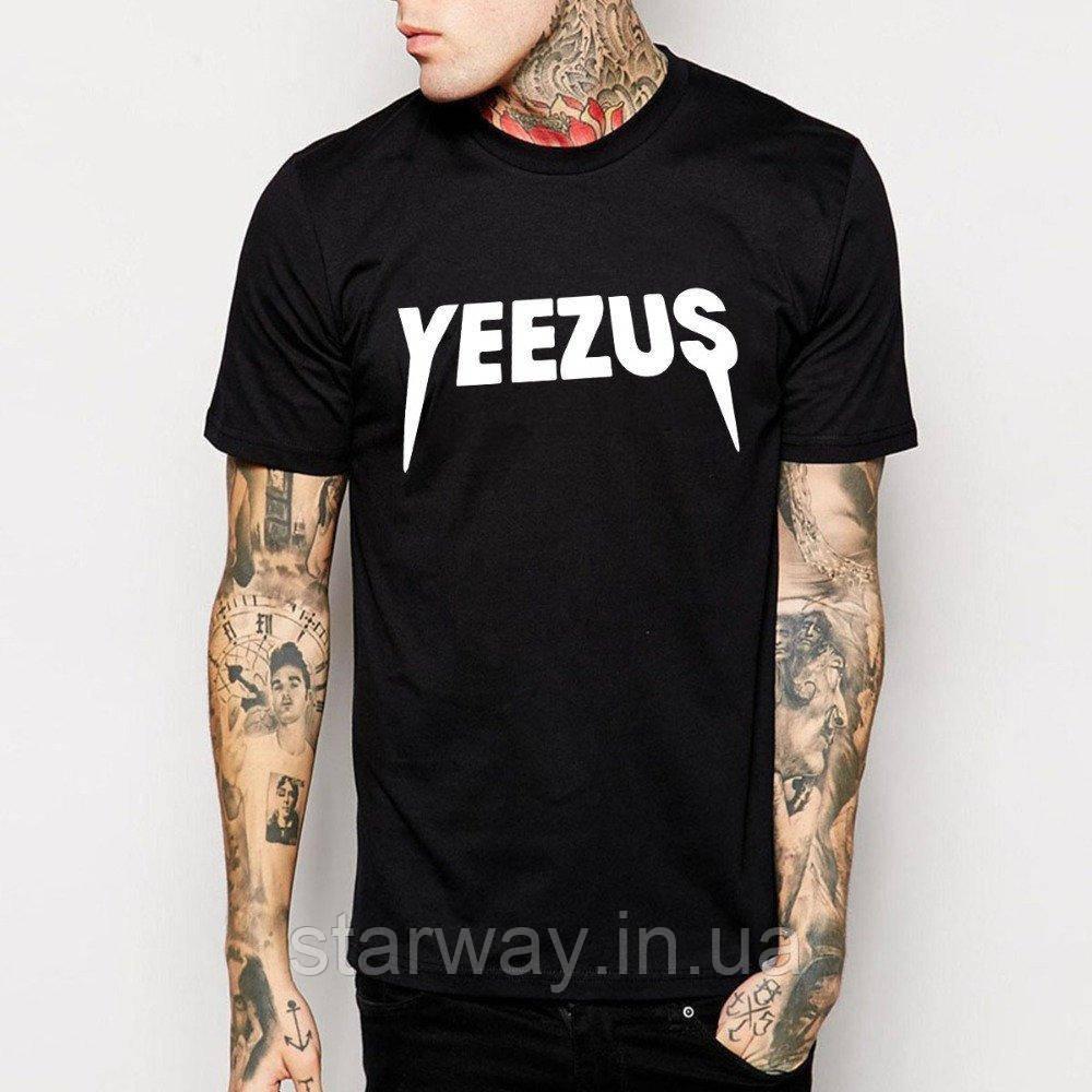Футболка стильная | Yeezus logo