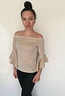 Блуза Oscar Fur БВ -1 Светло - бежевый, фото 1