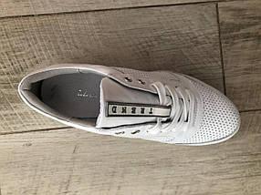 Кроссовки белые на платформе Selesta 1201, фото 3
