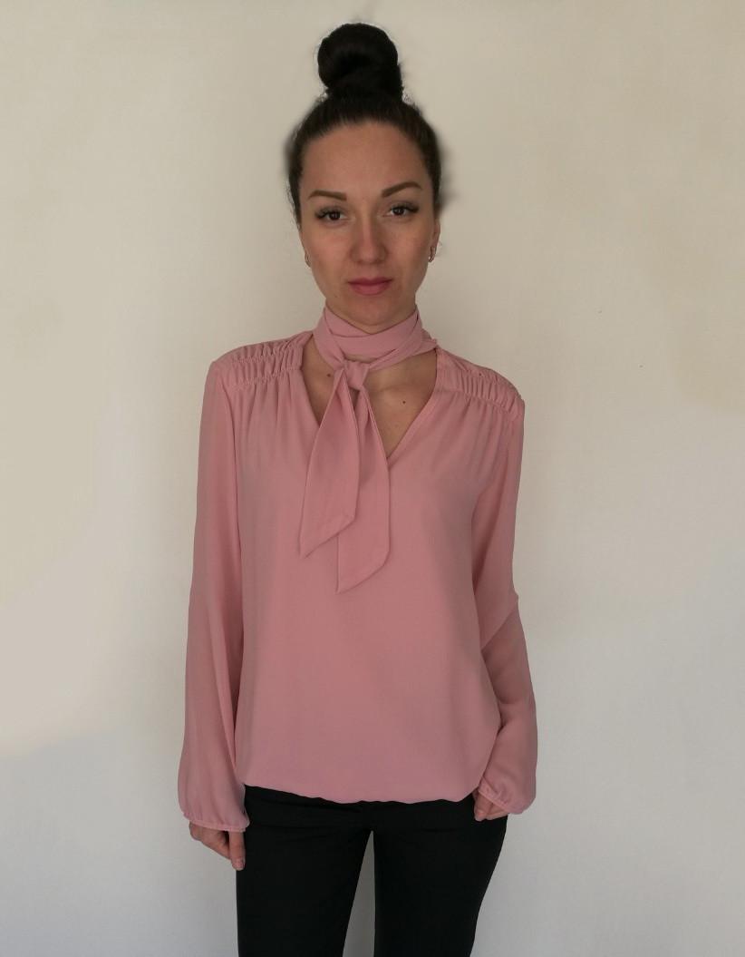 2f30c91590bf66c Блуза Oscar Fur БЛ - 1 Кораллово-розовый, цена 450 грн., купить в ...