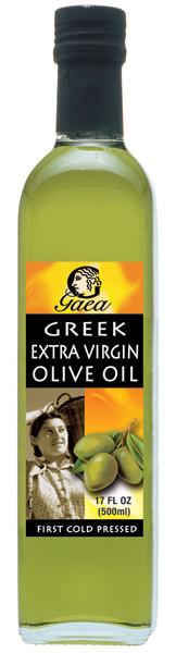 Оливковое масло первого холодного отжима из Греции Extra Virgin Gaea - 500мл