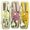 Дорожный мини утюжок выпрямитель для волос ГОФРЕ GV-118, щипцы, стайлер, прибор для укладки волос, фото 6