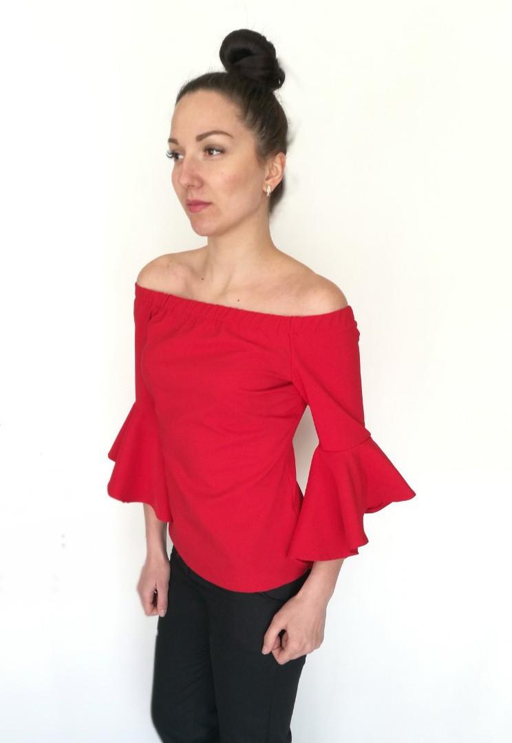 Блуза Oscar Fur БВ-3 Красный