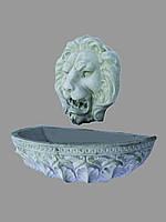 Фонтан Ф-27 ( голова льва 70/60 и чаша на стену 36/114)