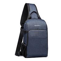 Cумка Baibu sling usb tablet-pack blue , фото 1