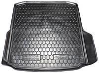 Полиуретановый коврик для багажника Skoda Octavia A7 (лифтбэк) (без бокса усилит.) с 2013-