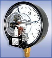 Манометр сигнализирующий ДМ Сг 05 с электроконтактоной приставкой